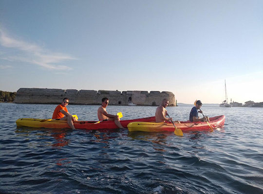 Kayaking: Sunset tour
